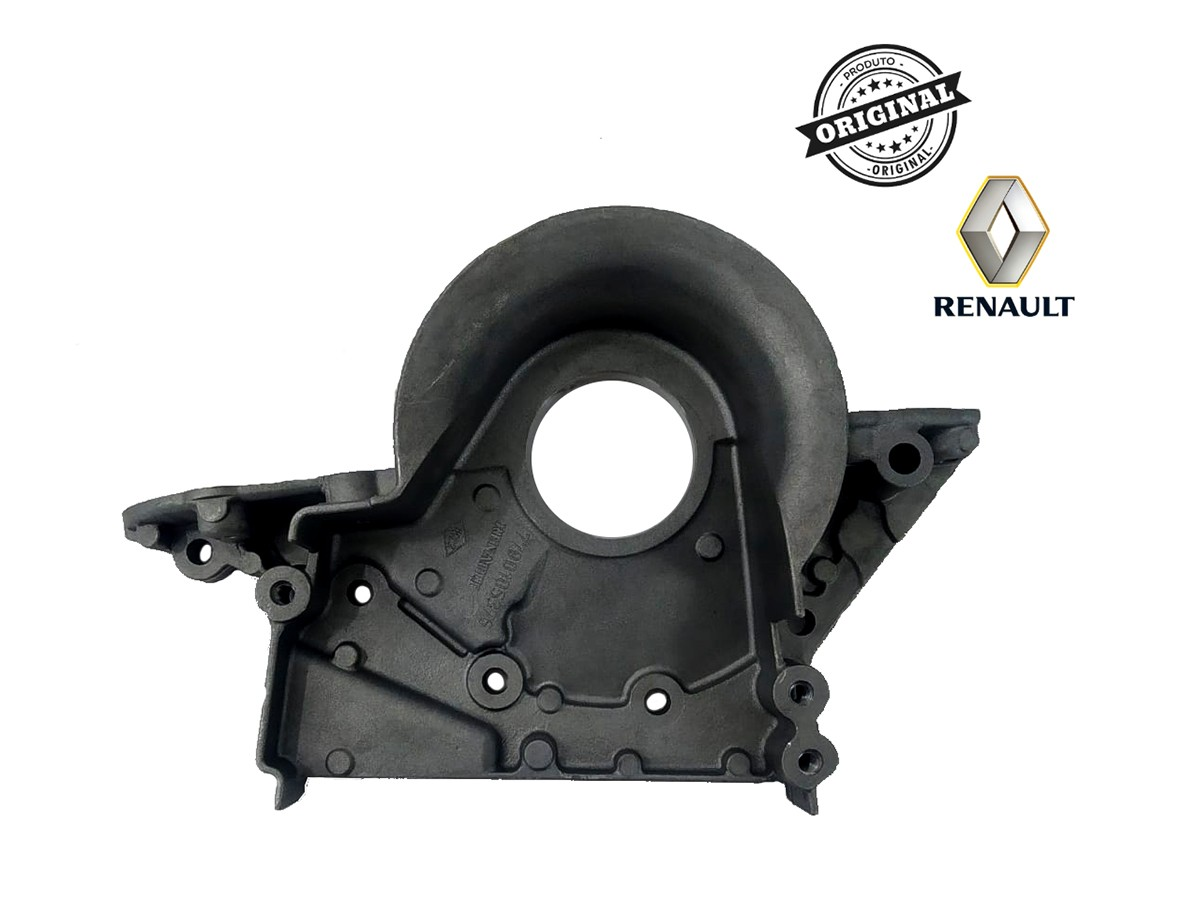 Tampa Dianteiro do Motor (Virabrequim) 1.6 16V K4M Renault Scenic/Clio  - Auto Peças L´equipe France