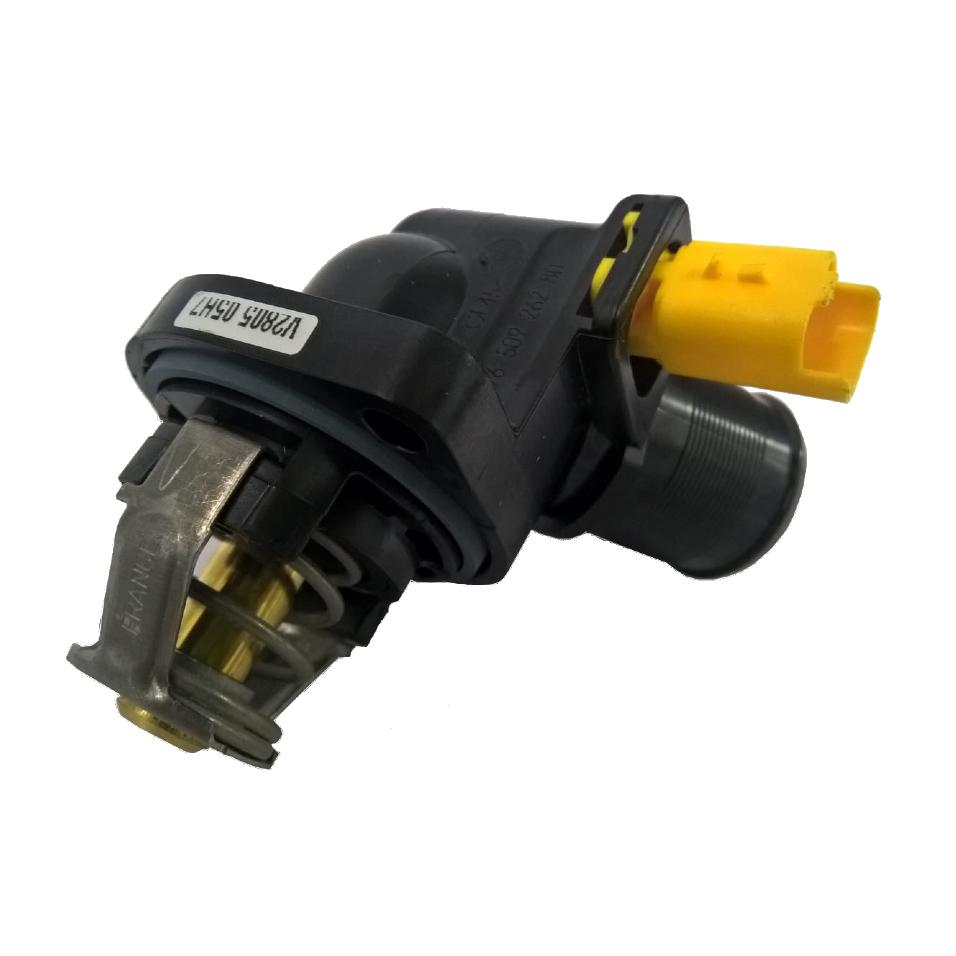 Valvula Termostatica Motor 1.5 8V Flex Peugeot 208 12...16/Citroen C3 Picasso 12...15/C3 Novo 12...18 1.5 8V  c/ Sensor