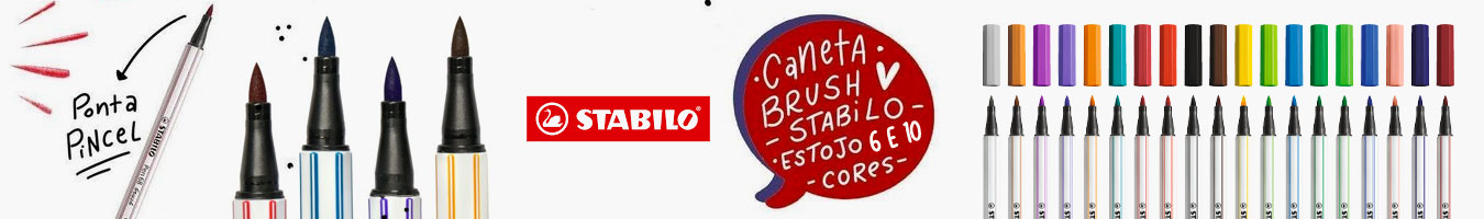 Stabilo - Brush Point 68