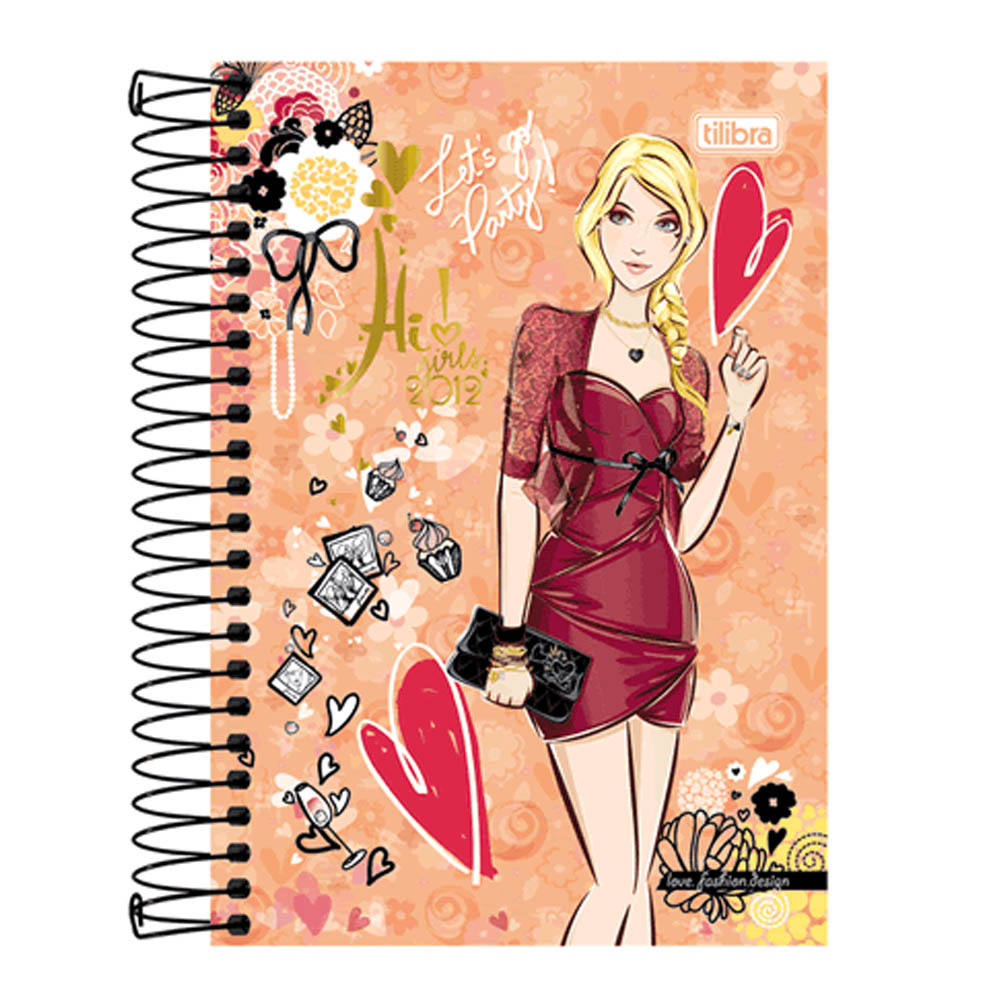 Agenda Lic. 2020 Hi!Girls Cd Espiral M4