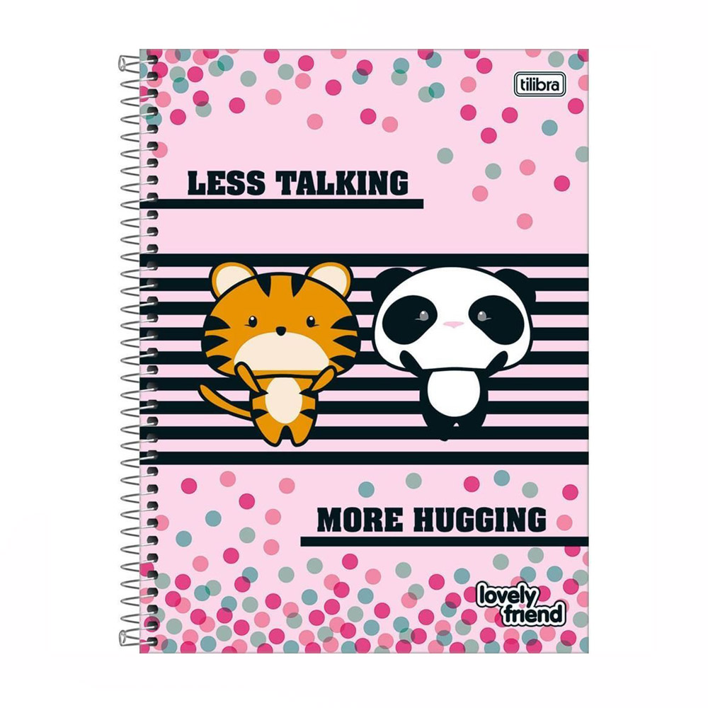 Caderno 12 X 1 Lic. 240Fls Lovely Friend