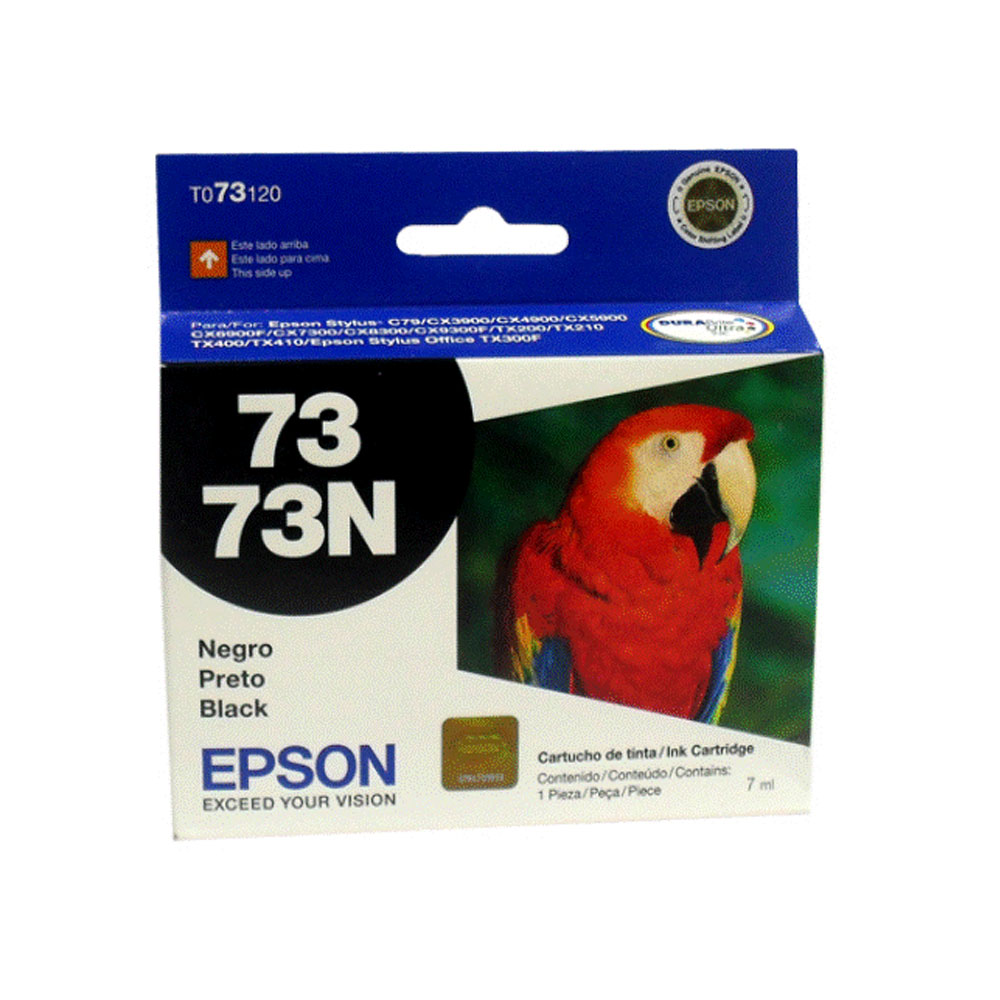 Cartucho Epson To73120 Preto 07Ml