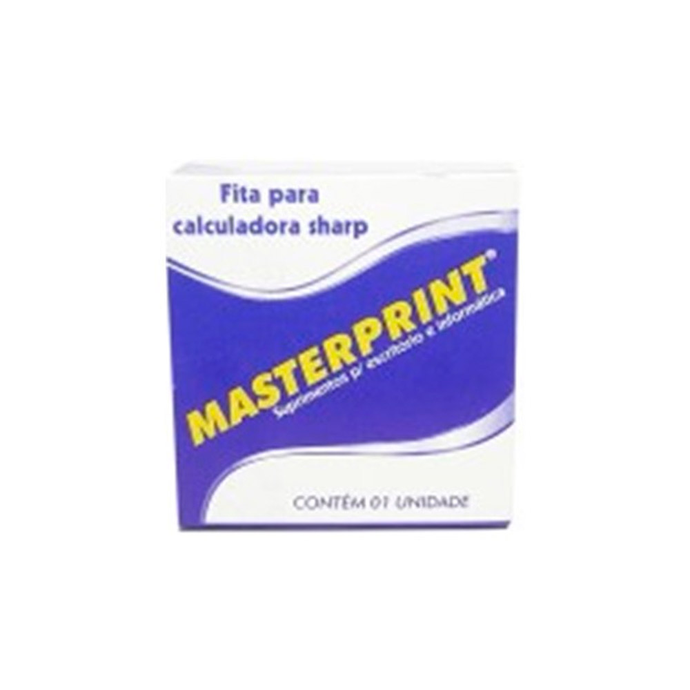 Fita Calculadora Sharp 13Mm X 4M