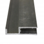 Perfil Arremate Alumínio Natural 6mmx6mts