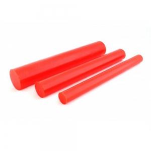 Tarugo Poliuretano vermelho 90SH A 300X300mm