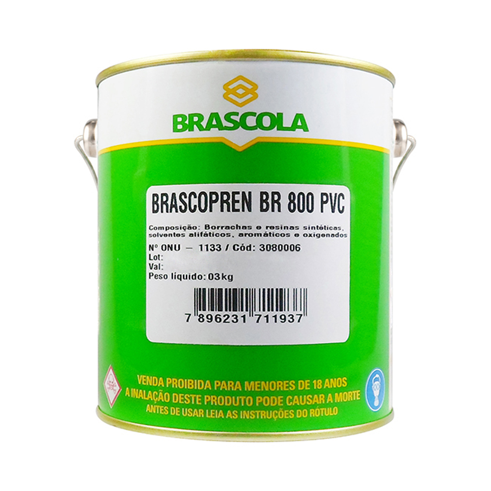 Adesivo brascopren 800 - 750gr