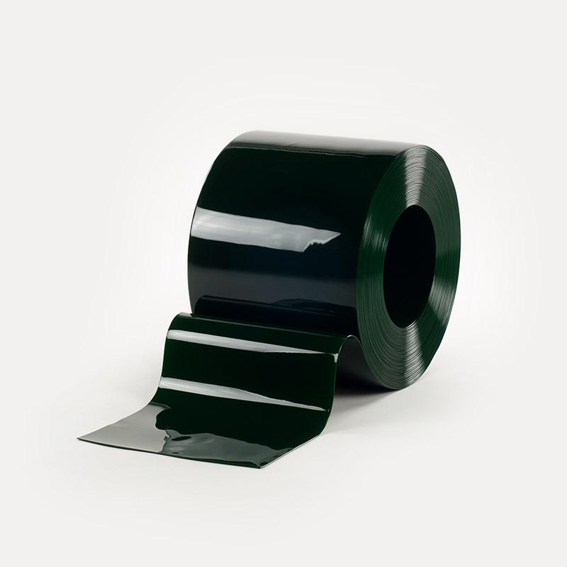 Bobina Pvc Standard Verde Transparente 200mmx2mmx50mts