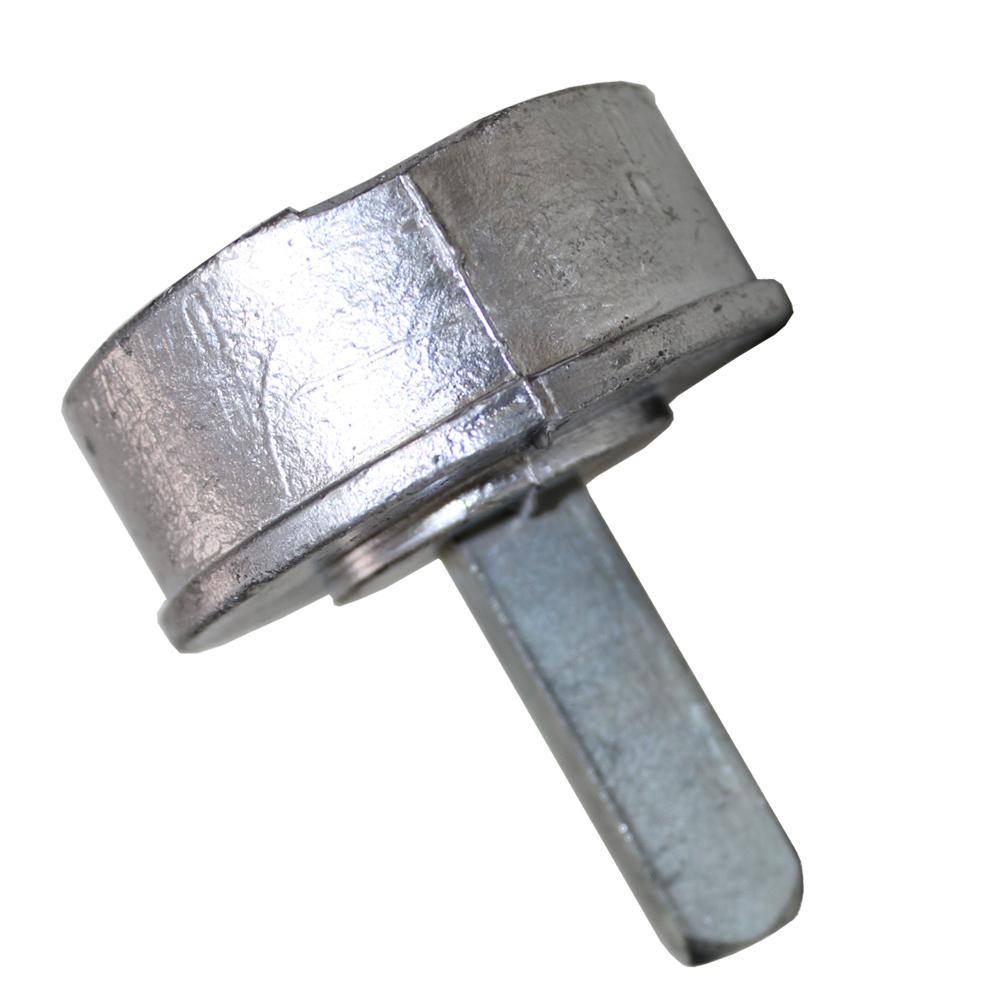 Bucha Aluminio com Pino 2.1/2