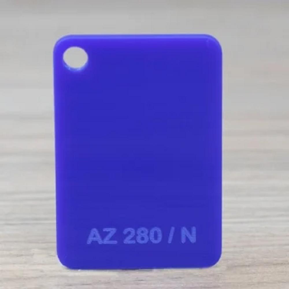 Chapa Acrilico Cast Azul 3mmx1000mmx2000mm az280 - cast d