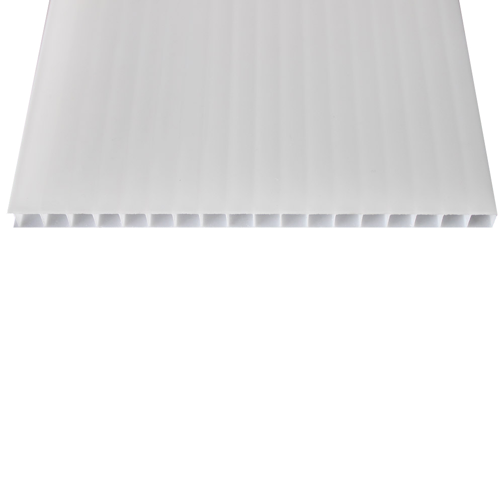 Chapa de Policarbonato Alveolar Branco 10mmx1050mmx6000mm