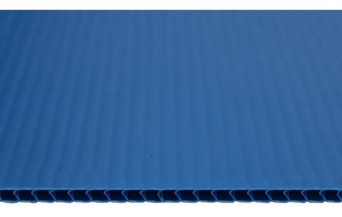 Chapa Plastionda Azul 3mmx1300mmx2000mm 550gr. m²