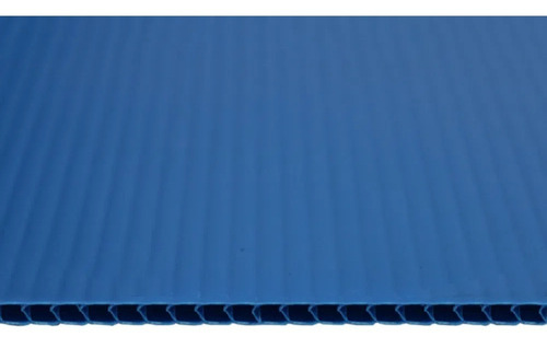 Chapa Plastionda Azul 4mmx1300mmx2000mm 750gr. m²