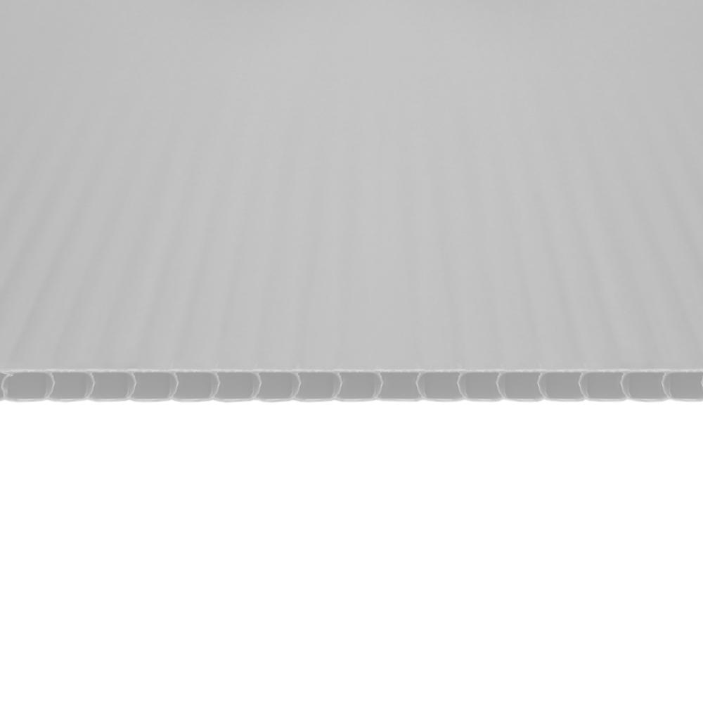 Chapa Plastionda Branca 4mmx1300mmx2000mm 750gr. m²
