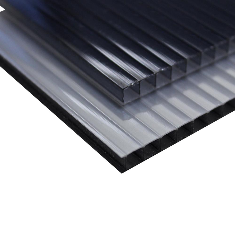 Chapa Policarbonato Alveolar Refletiva Fume 10x1050x6000mm