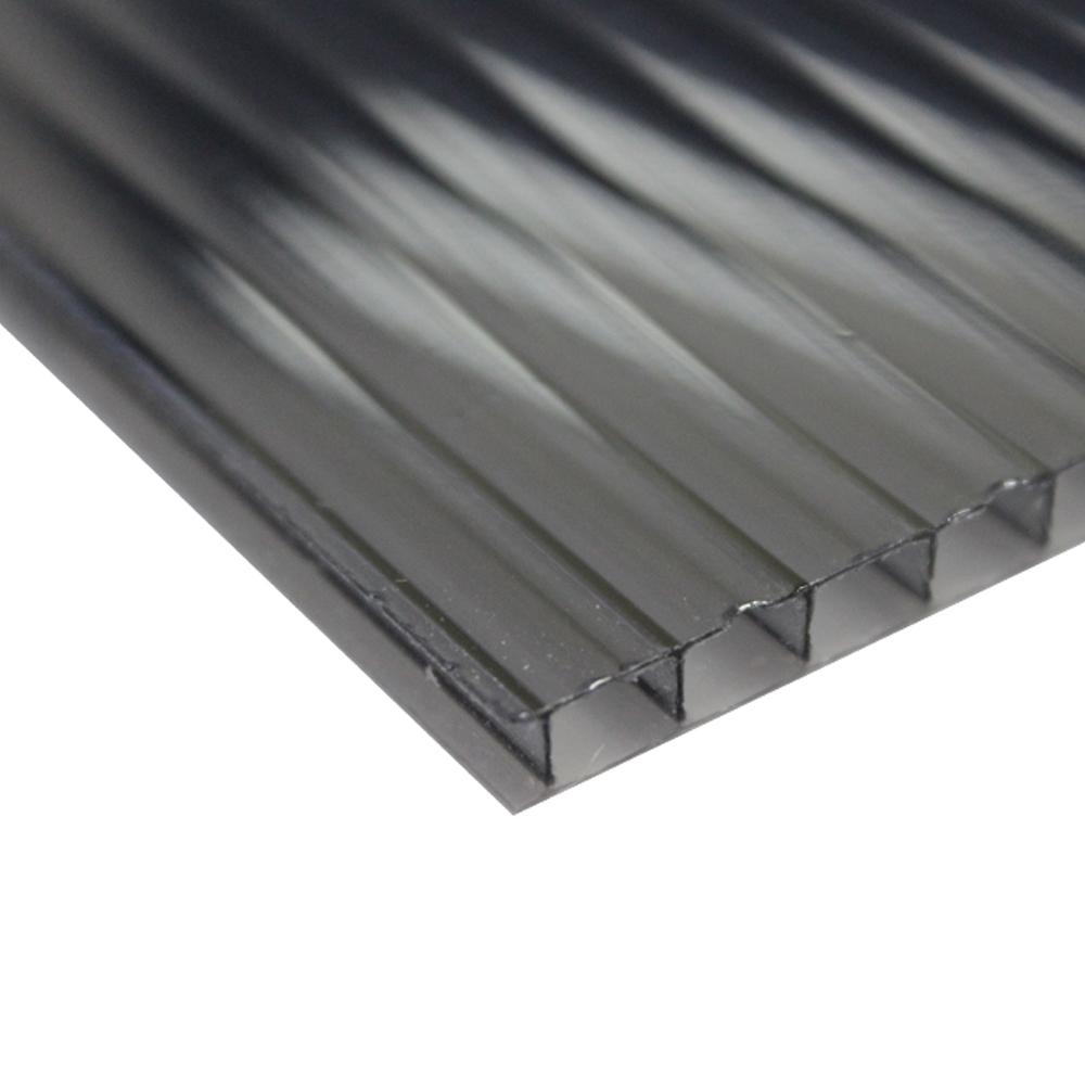 Chapa Policarbonato Alveolar Refletiva Fume 6x1050x6000mm