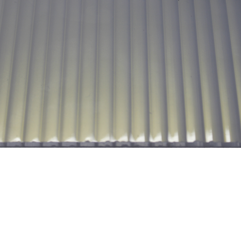 Chapa Policarbonato Alveolar Refletiva Heatbloc-Ouro 10x1050x6000mm