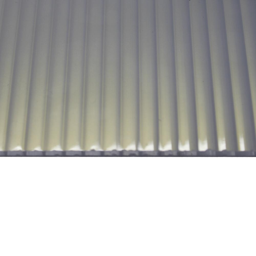 Chapa Policarbonato Alveolar Refletiva Heatbloc-Ouro 6x1050x6000mm