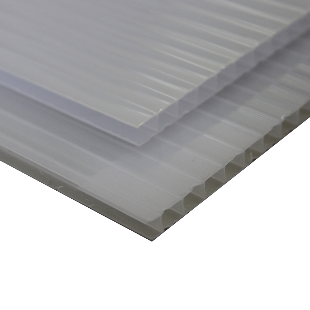 Chapa Policarbonato Alveolar Refletiva Perola Full 10x1050x6000mm