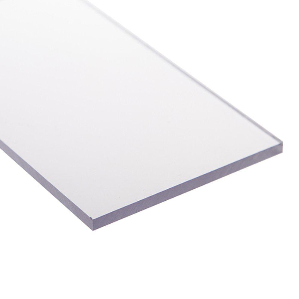 Chapa policarbonato compacto cristal 3mmx1000mmx2000mm