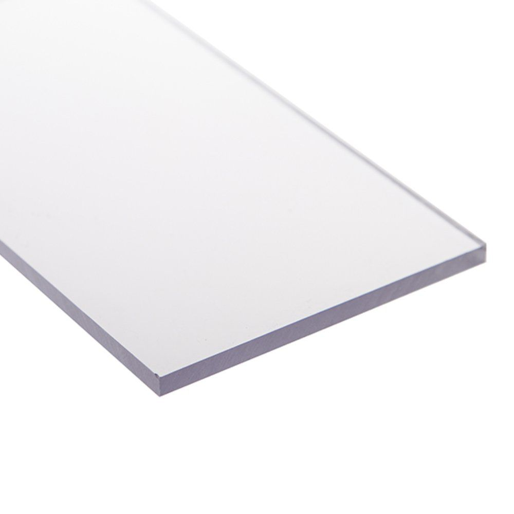 Chapa policarbonato compacto cristal 6mmx1000mmx2000mm