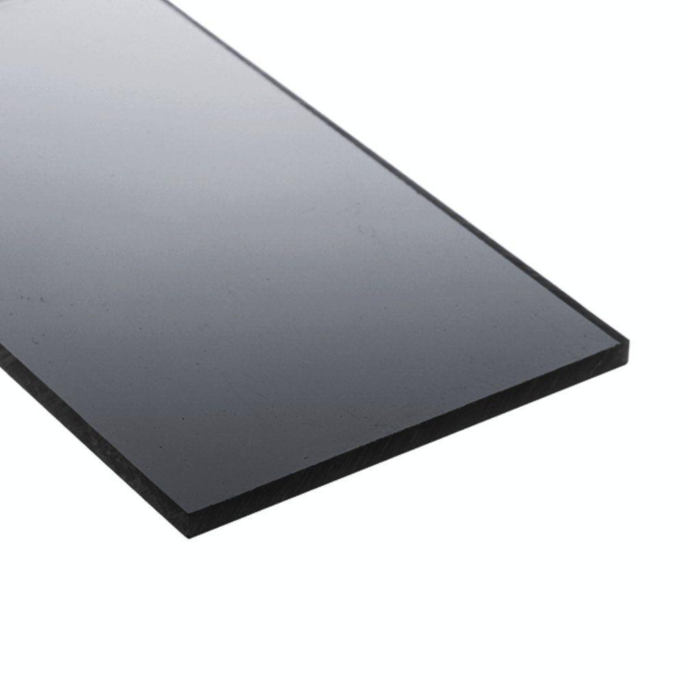 Chapa policarbonato compacto fumê 2mmx2000mmx6000mm