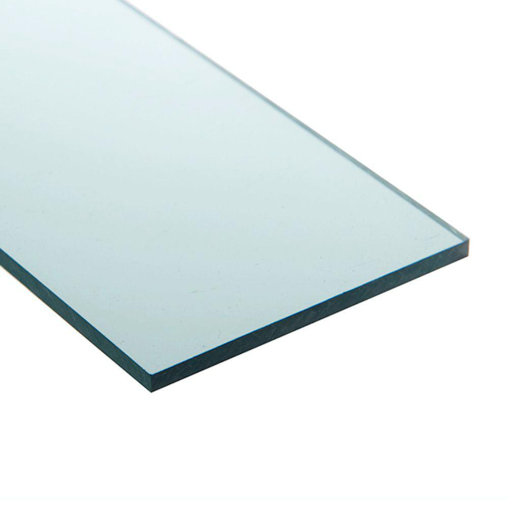 Chapa policarbonato compacto verde 6mmx2000mmx3000mm