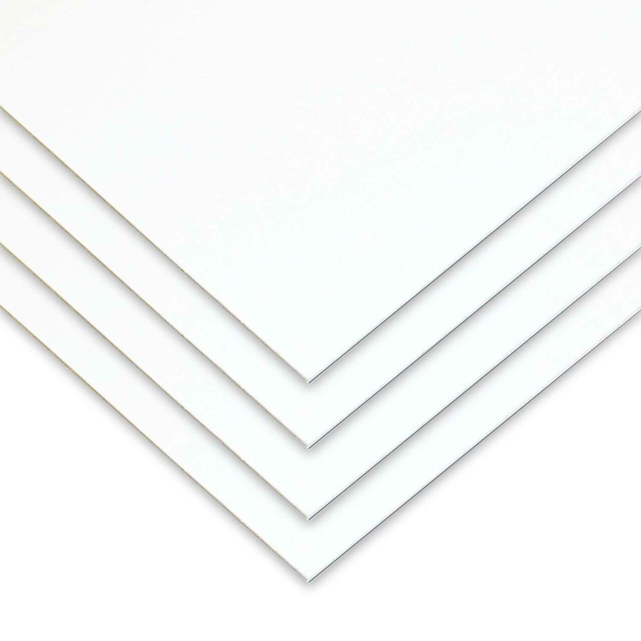 Chapa poliestireno branco 1mmX1000mmX2000mm