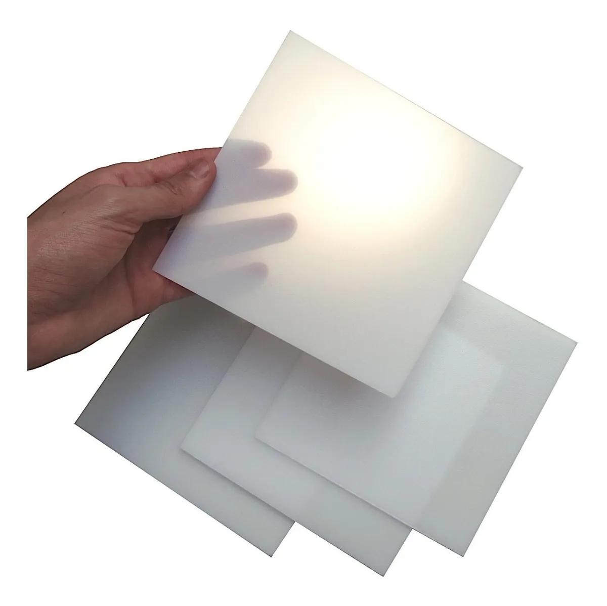 Chapa poliestireno luminaria 2mmX1000mmX2000mm