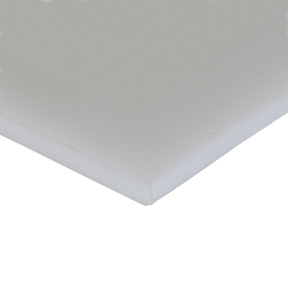 Chapa Polietileno Natural 25mmx1000mmx2000mm