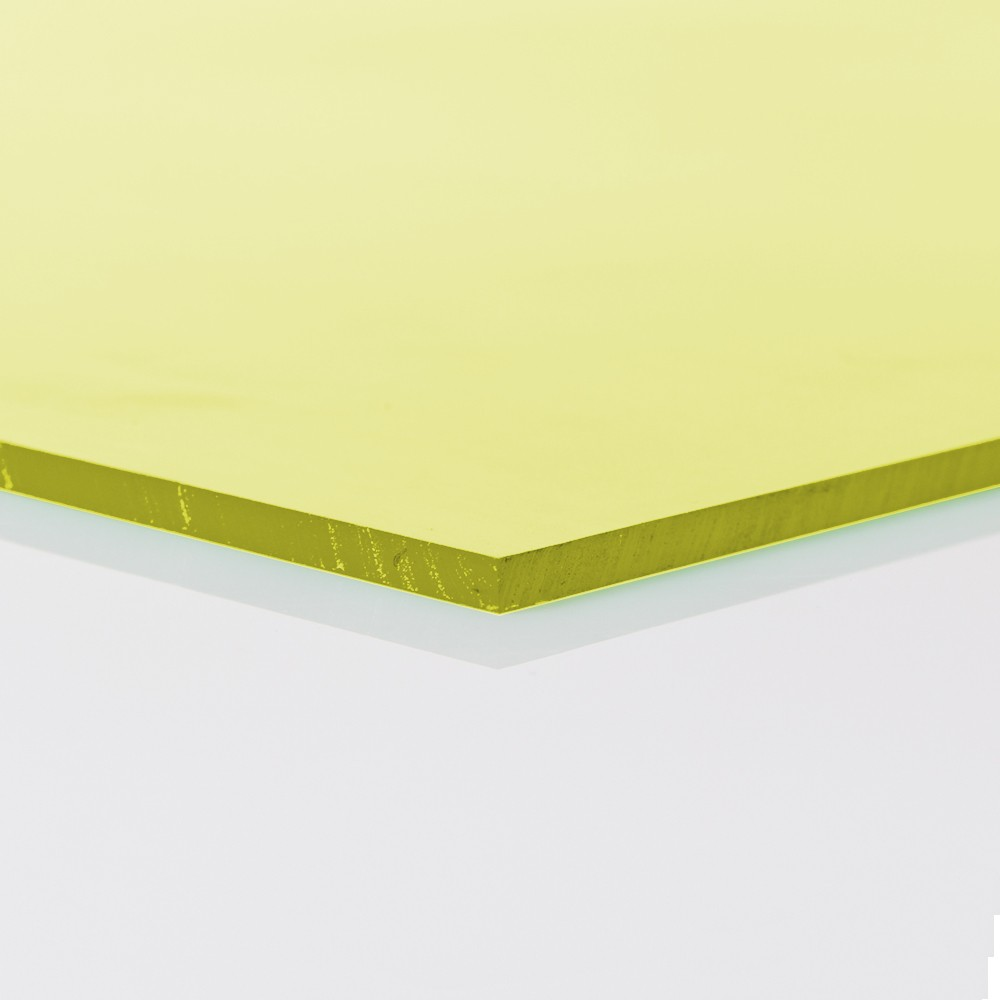 Chapa Poliuretano Amarelo 60/65SH A 9mmx1000mmx1000mm