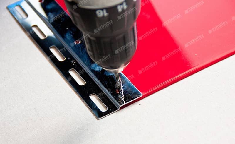 Conjunto Pendural de 200mm em aço inox (6 por ml)