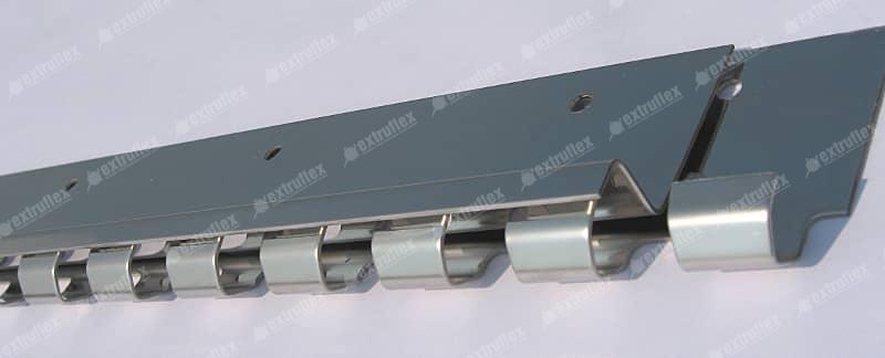 Conjunto Pendural de 300mm em aço inox (4 por ml)