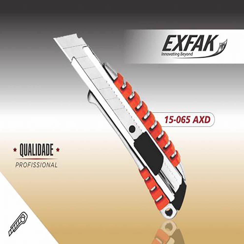Estilete exfak  largo semi profissional 15-065 axd