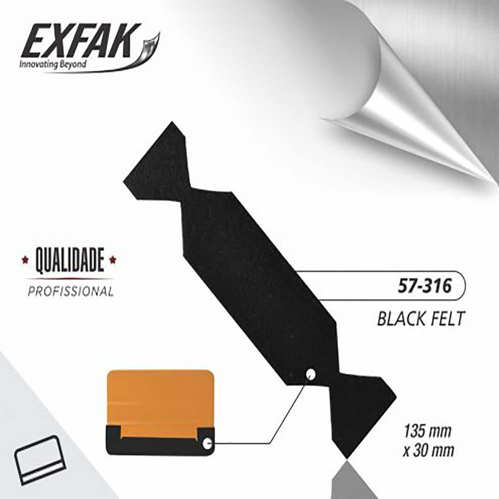 Feltro exfak  black 57-316