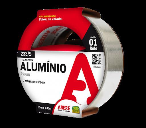 Fita Alumínio Com Liner 25mm x 30mts