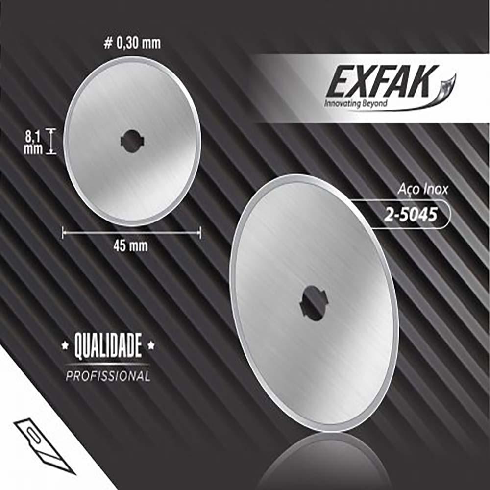 Lâmina exfak  circular grande profissional 2-5045