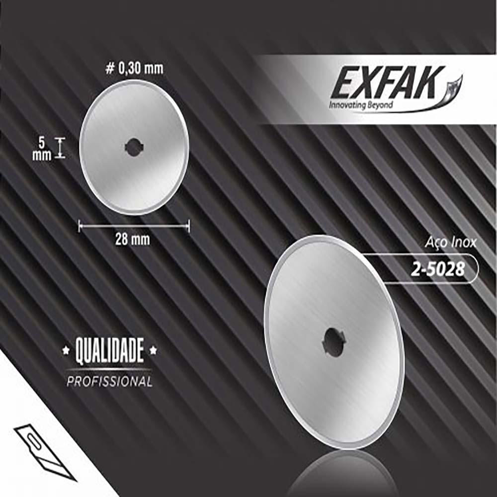 Lâmina exfak  circular profissional 2-5028