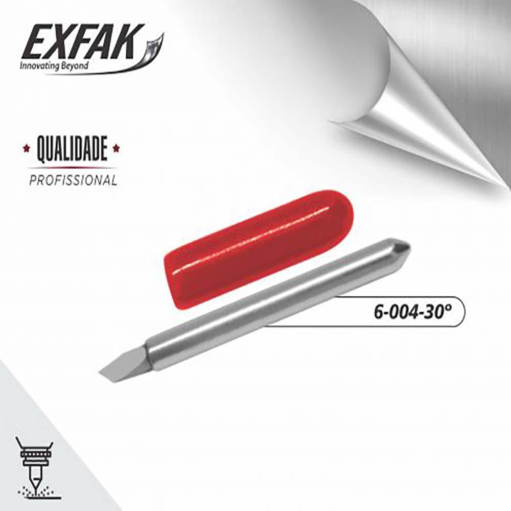 Lâmina exfak  de corte para filme refletivo 6-004-30°