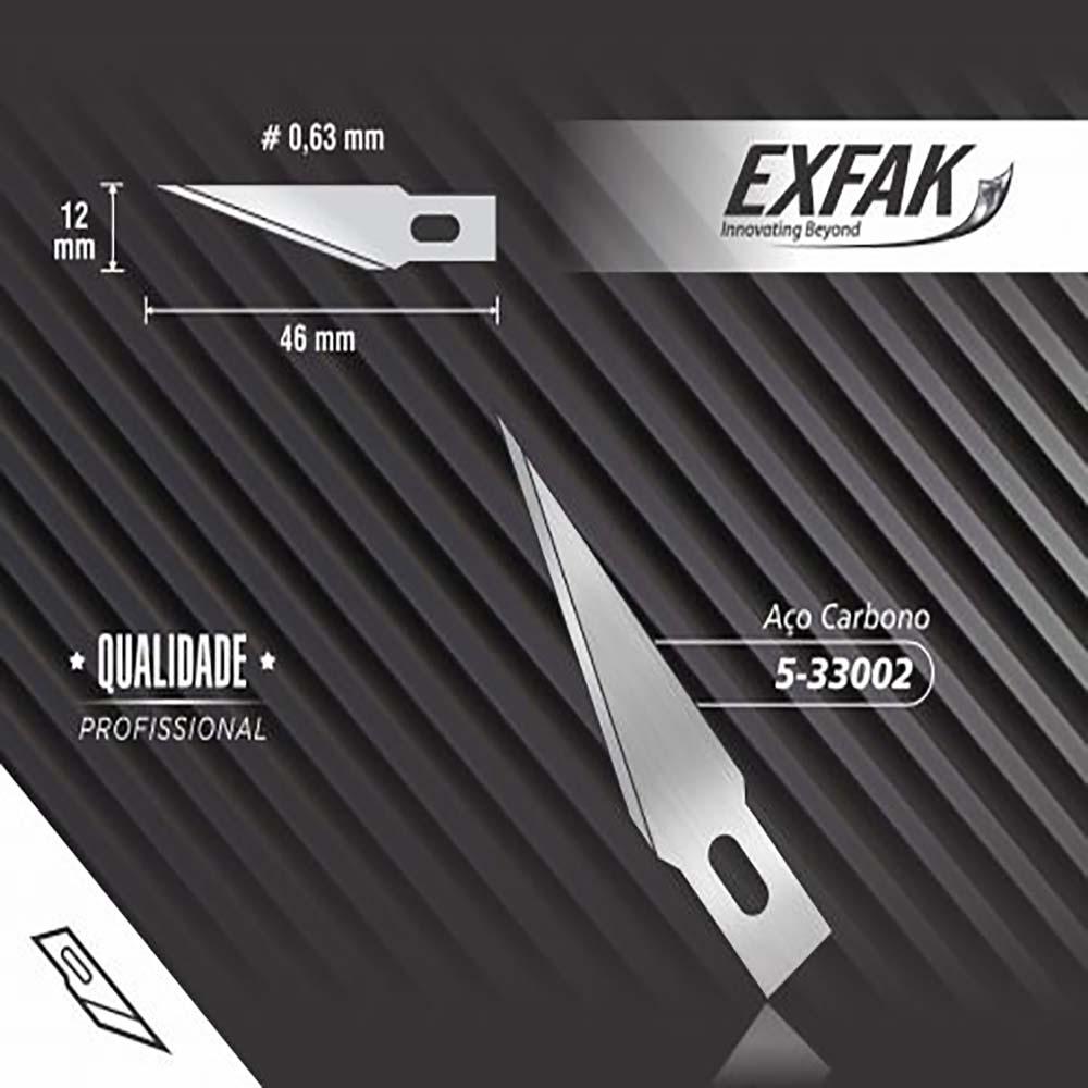 Lâmina exfak  para rebarba 5-33002 exfak