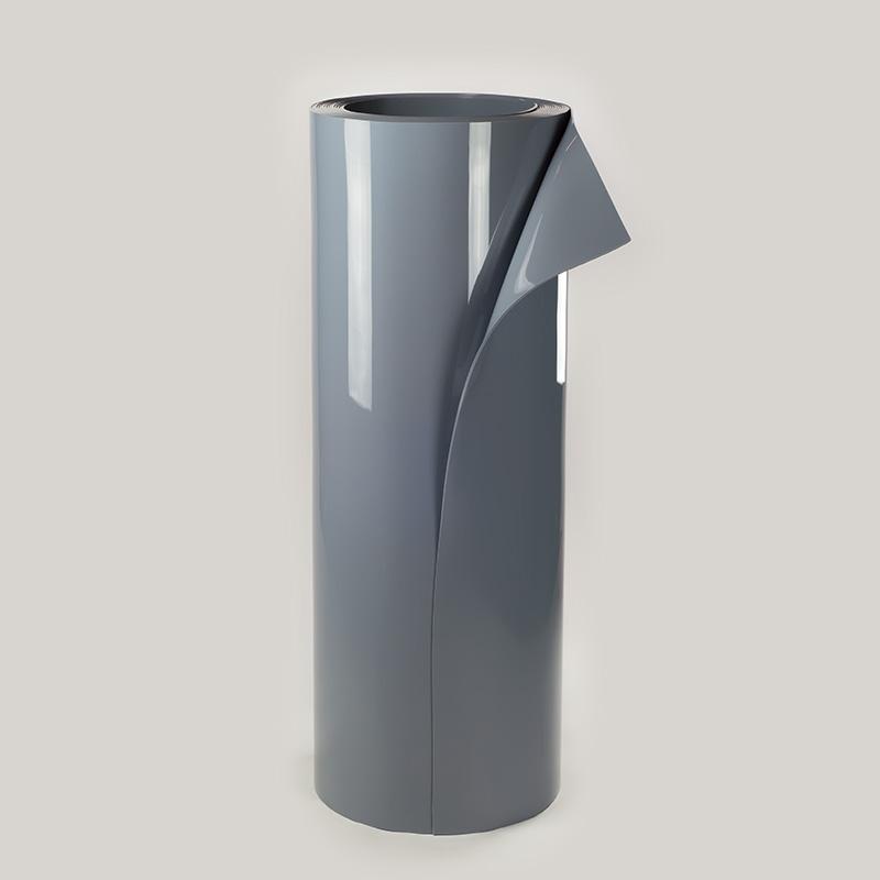 Lençol Pvc Cinza Opaco 1500mmx5mmx20mts