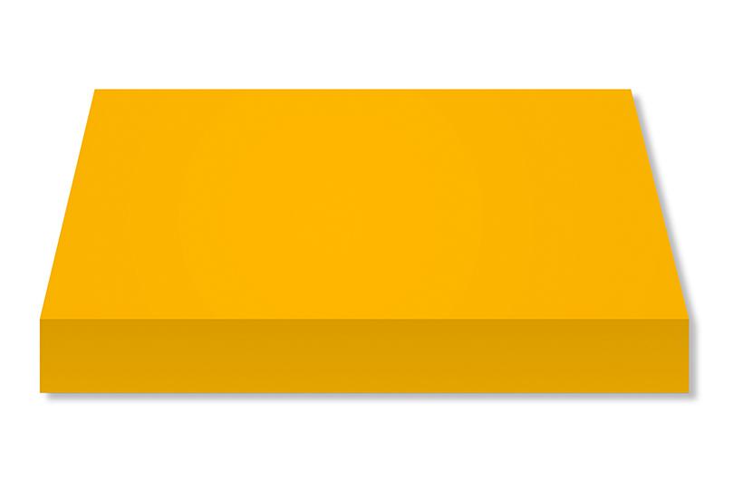Lona Acrílica Amarela 554 1,52x1,0mt