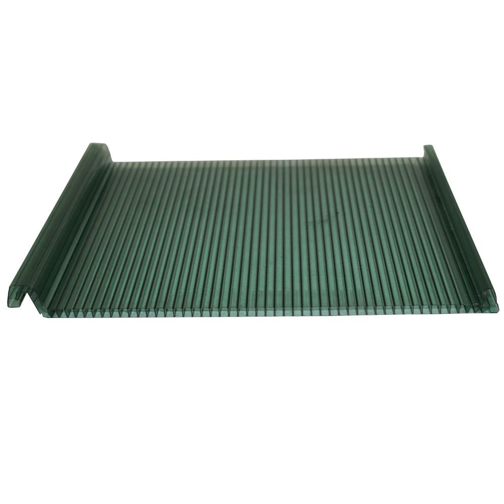 Multiclick Alveolar Verde 6mmx250mmx6000mm