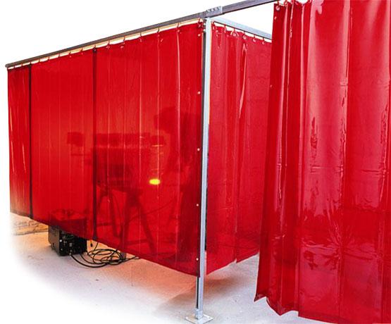 Painel Pvc de Solda Vermelho 1400mmx0,4mmx1800mm