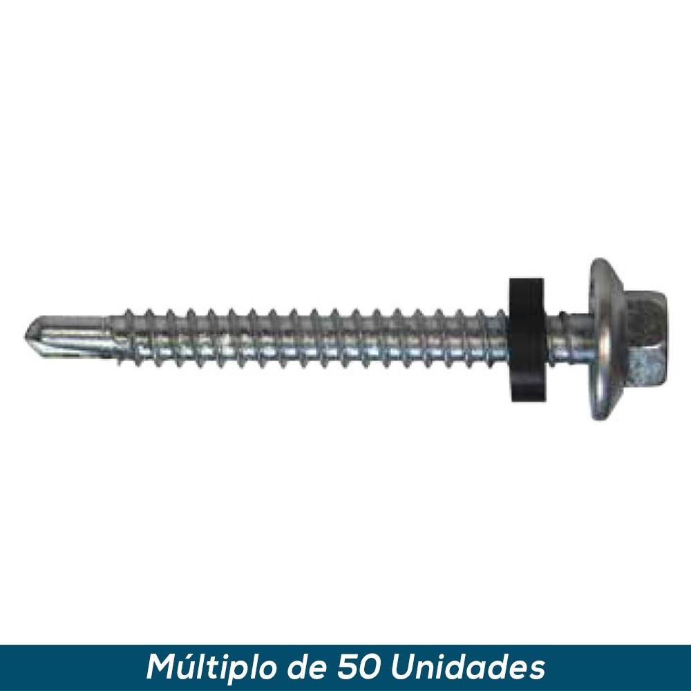 """Parafuso Auto Perfurante 12-14x1.1/2"""" Sext. Pt3 - 50 pçs"""