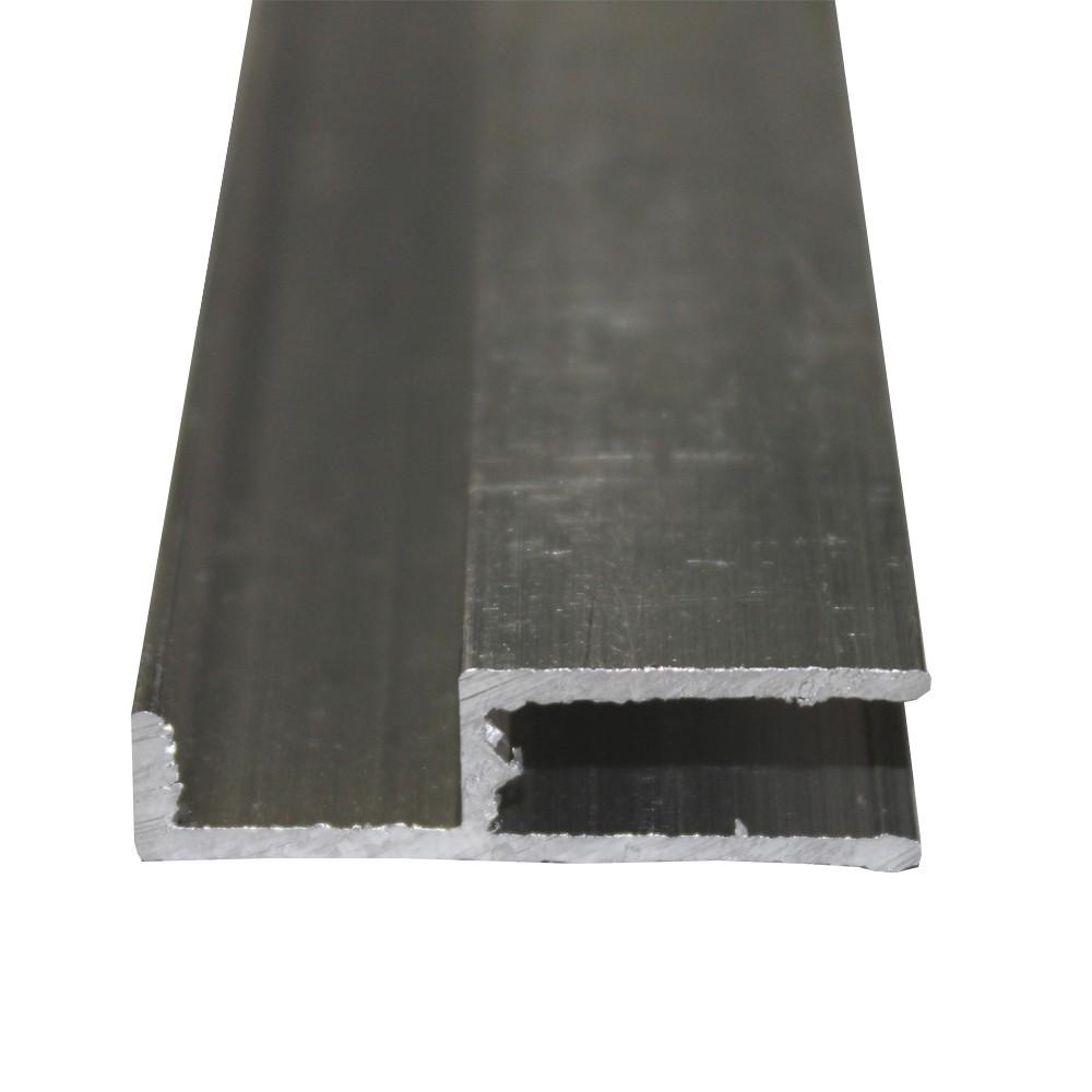 Perfil Arremate Alumínio Natural 4mmx6mts