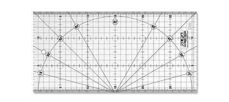 Réguas de quilt Olfa MQR-15X30