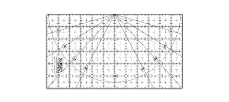 Réguas de quilt Olfa QR-6X12