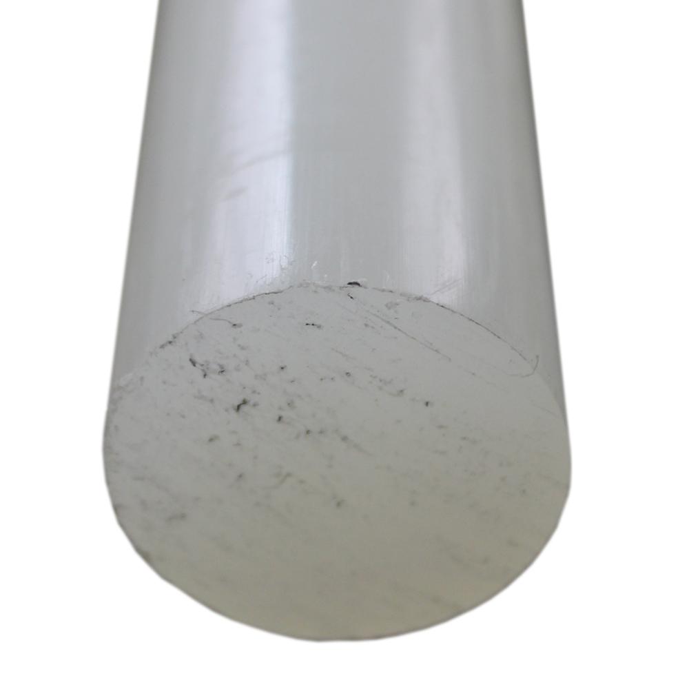 Tarugo Polietileno Natural 25mmx1000mm