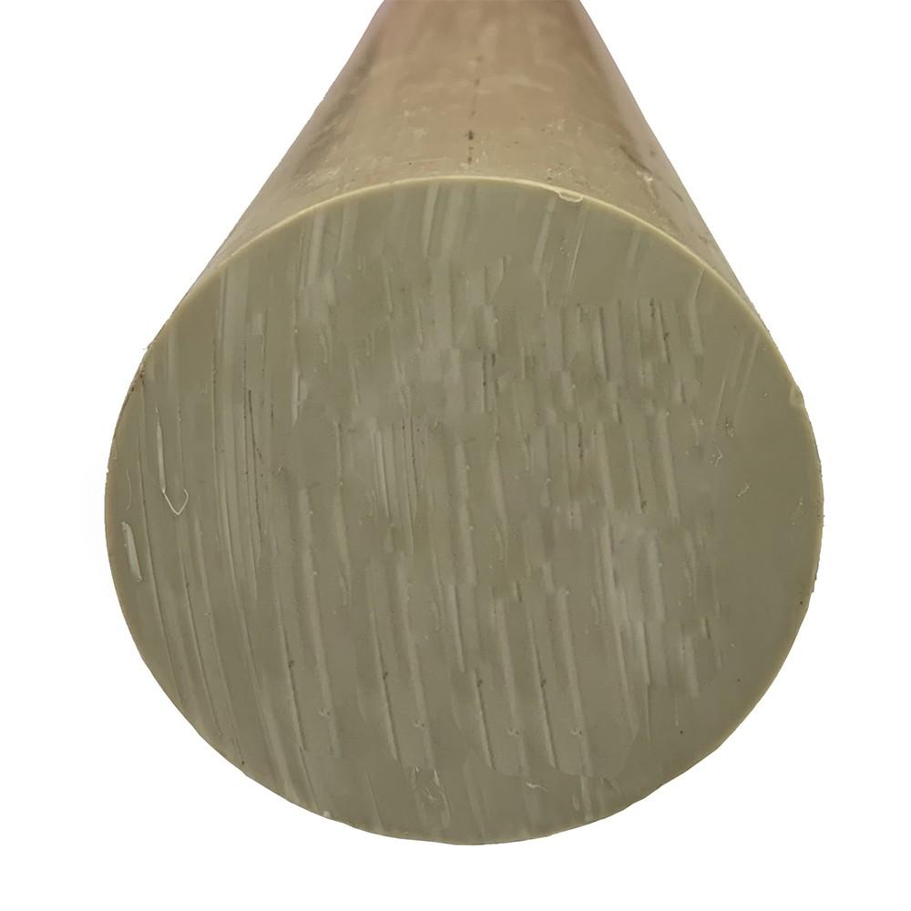 Tarugo Polipropileno Cinza 25mmx1000mm