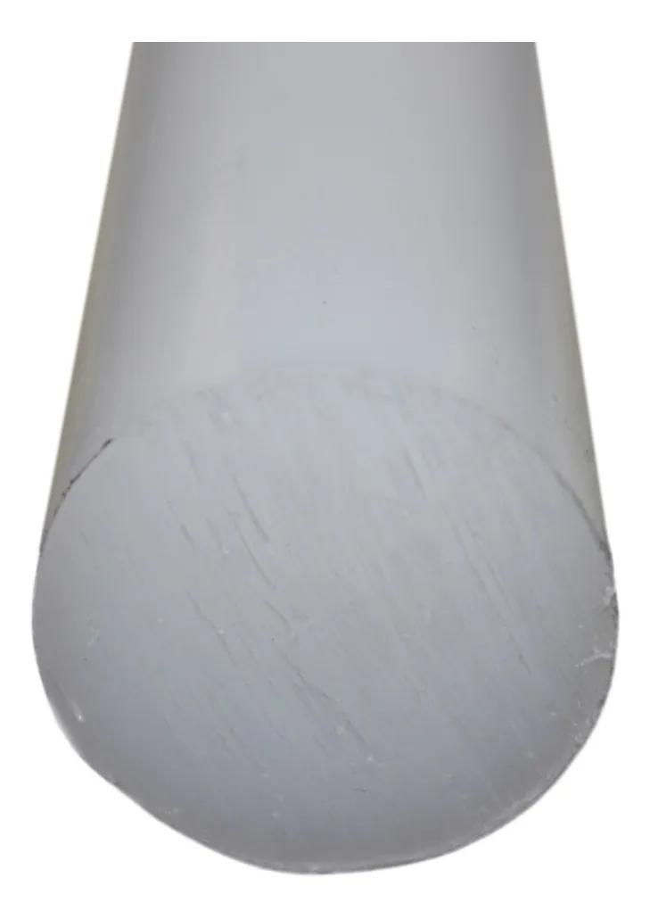 Tarugo Polipropileno Cinza 65mmx1000mm